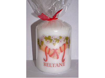 Beltane 8cm Candle NEW SIZE - see description