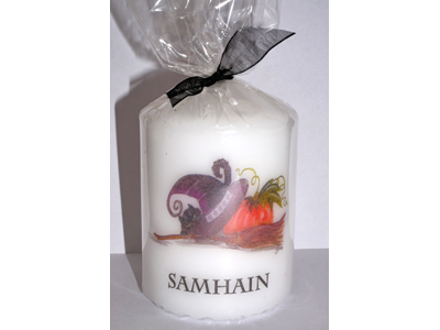 Samhain 8cm Candle NEW SIZE - see description