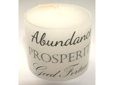 03.5cm Abundance Prosperity Good Fortune Candle