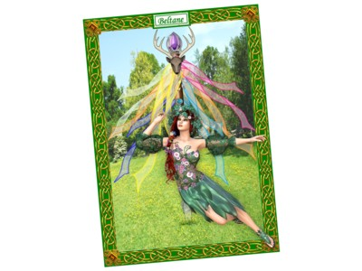 Beltane Card NEW