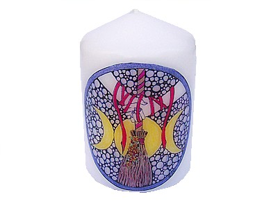10cm Handfasting Candle