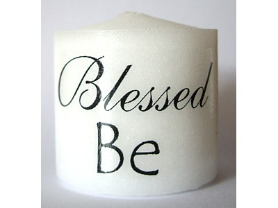 03.5cm Candle Blessed Be