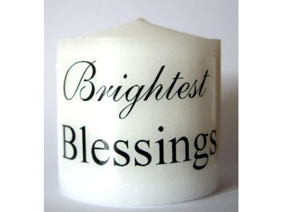 03.5cm Candle Brightest Blessings