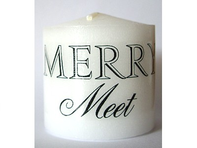 03.5cm Candle Merry Meet