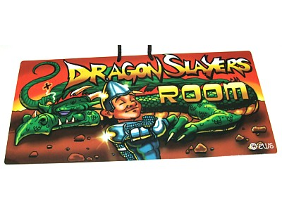 Dragon Slayers Room Elite Sign