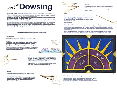 Dowsing Easy Guide
