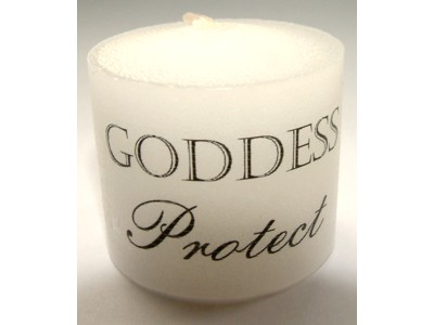 03.5cm Goddess Protect Candle