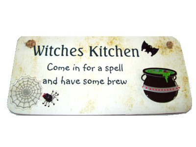 Witches Kitchen 3D Witchy Sign