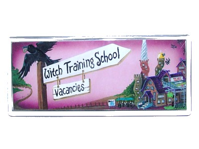 Witch Training School Magnet