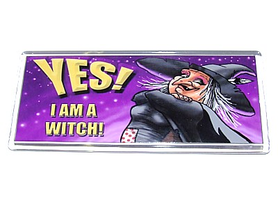 Yes! I Am A Witch Magnet