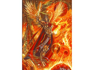 Archangel Michael Card A6
