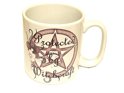 Witch Range 1 Protected by Witchcraft Mug
