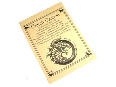 Dragon Invocation for Earth Poster