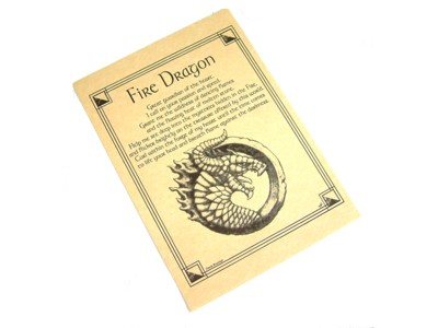 Dragon Invocation for Fire Poster
