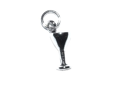 Chalice Silver Charm