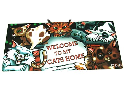 Welcome to my Cats Home Elite Sign