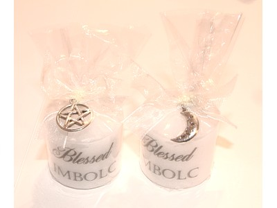 03.5cm Imbolc Candle with Charm