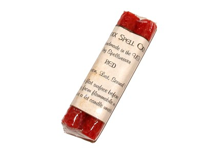 Beeswax Spell Candles pack of 2 - Red