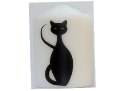 Cat Candle C- NEW SIZE see description
