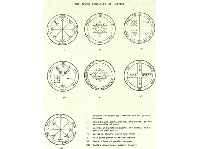 The Seven Pentacles of Jupiter Poster