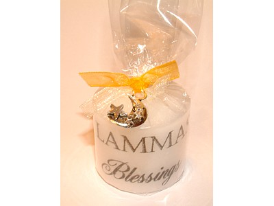 03.5cm Lammas Candle with Charm