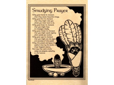 Smudging Prayer Poster