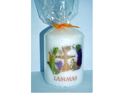 Lammas 8cm Candle NEW SIZE - see description