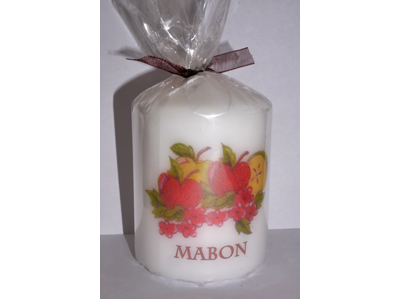 Mabon 8cm Candle NEW SIZE - see description