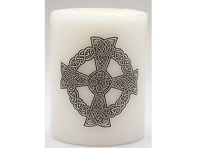 5cm Celtic Cross Candle