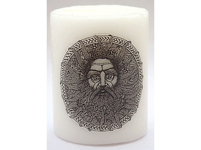 5cm Belenus Celtic Sun God Candle