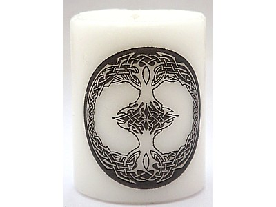 5cm Celtic Tree of Life Candle