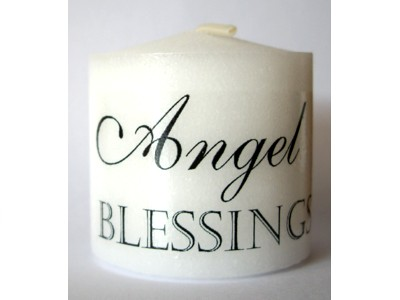 03.5cm Candle Angel Blessings