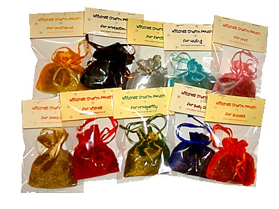 Spellweaver's Witches Charm Bags