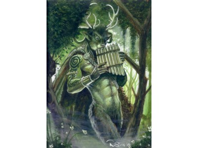 Forest Walker Card A6