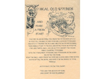 To Heal Old Wounds Poster NEW