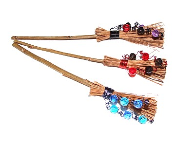 Hedgewitch Broomstick for Luck and Protection