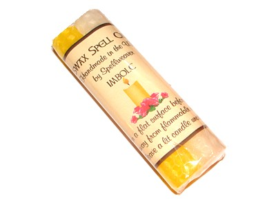 Beeswax Sabbat Candles Pack of 2 - Imbolc