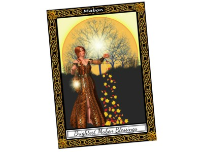 Mabon Card New