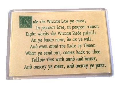 Wiccan Rede Magnet