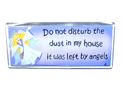 Do Not Disturb the Dust Magnet