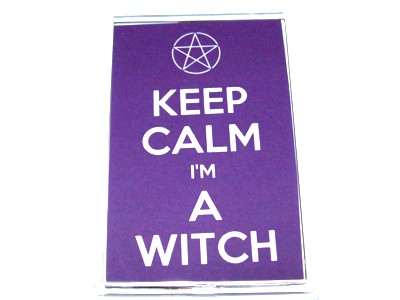 Keep Calm I'm A Witch Magnet Pentacle