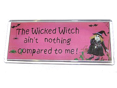The Wicked Witch Aint Nothing Compared to me Magnet