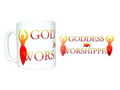 Goddess Worshipper Mug (Wrap)