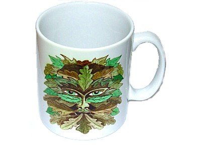 Green Man Summer Mug