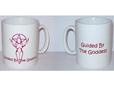 Goddess Inspiration Mug, Guided by the Goddess (Wrap)