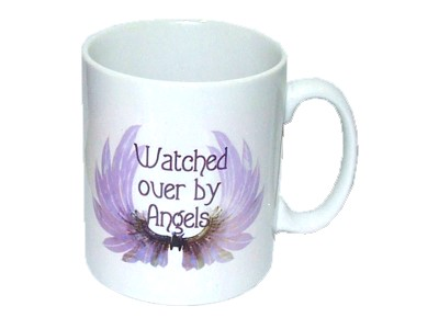 Watched Over By Angels Mug