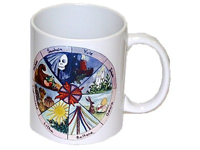 Wheel of the Year Mug