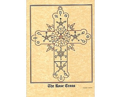 Rose Cross Poster