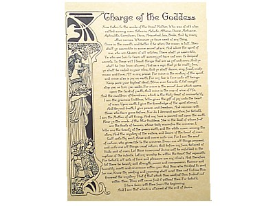 Charge of the Goddess Poster