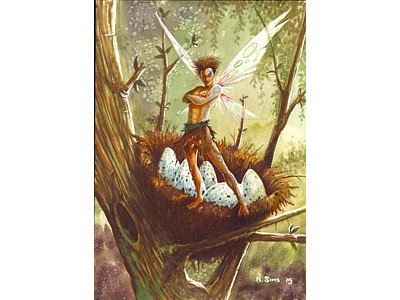 Protector of Animals Fairy Card A6